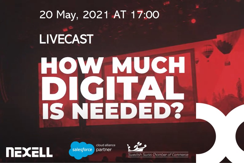 Livecast event with Salesforce - How much digital is needed?