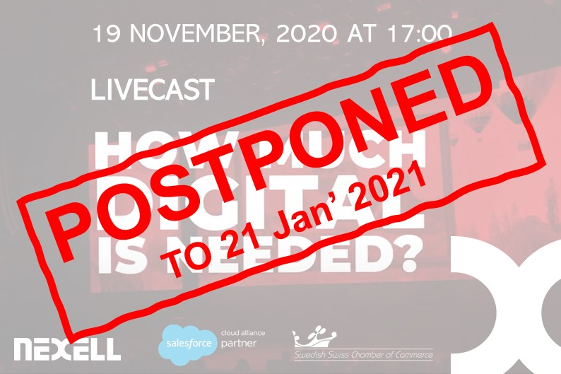 LiveCast broadcast how much digital is needed postponed new 21 January 2021