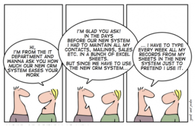 Forcing your teams to use a CRM. A mistake ?